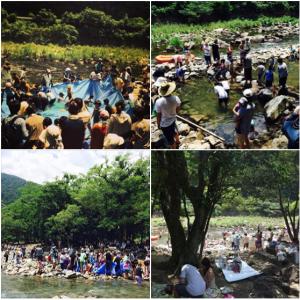 三原村清流祭り