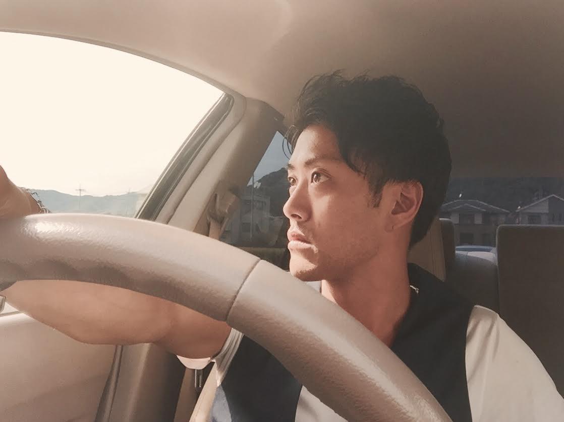 菊田慎也│ドライブ│夕日
