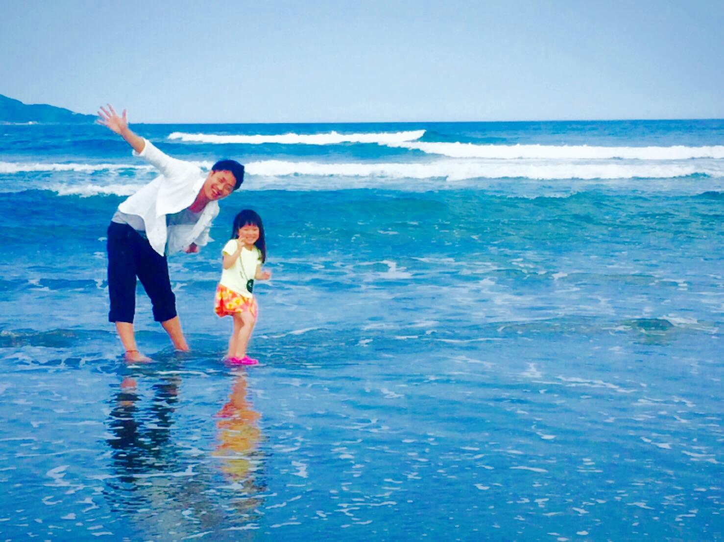 菊田慎也、砂浜、海辺